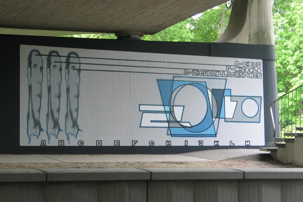 Graffiti Freiburg, Graffitiauftrag, Graffiti legal, inzoolo Freiburg