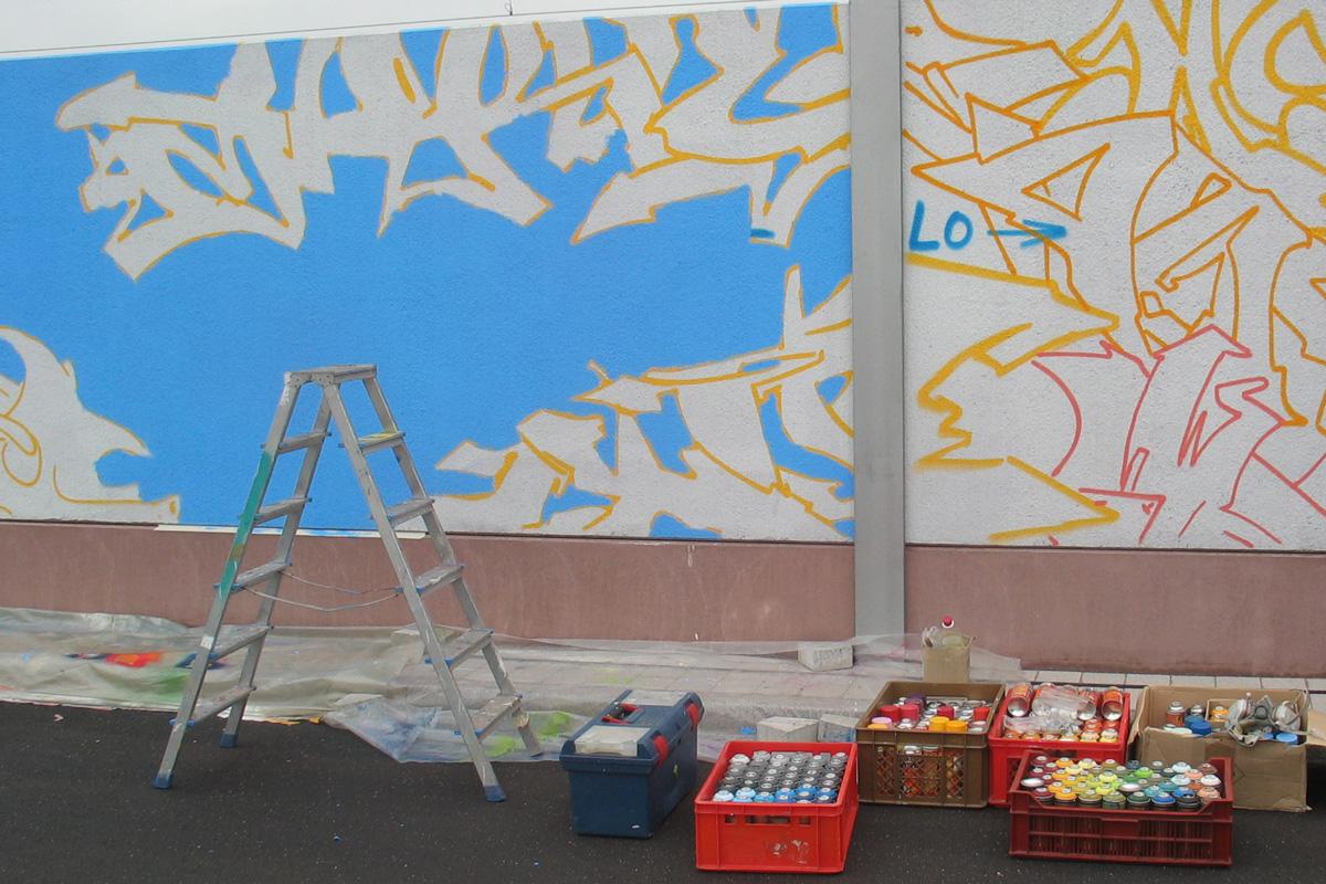 Graffiti von zoolo, Andreas Ernst Graffiti, inzoolo, Graffiti Freiburg