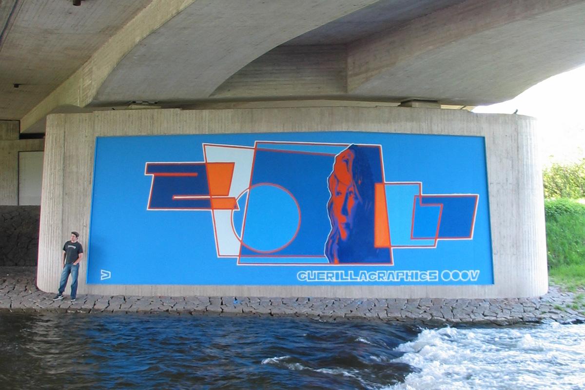 Graffiti, guerillagraphics, ecb, zoolo, Graffitigestaltung
