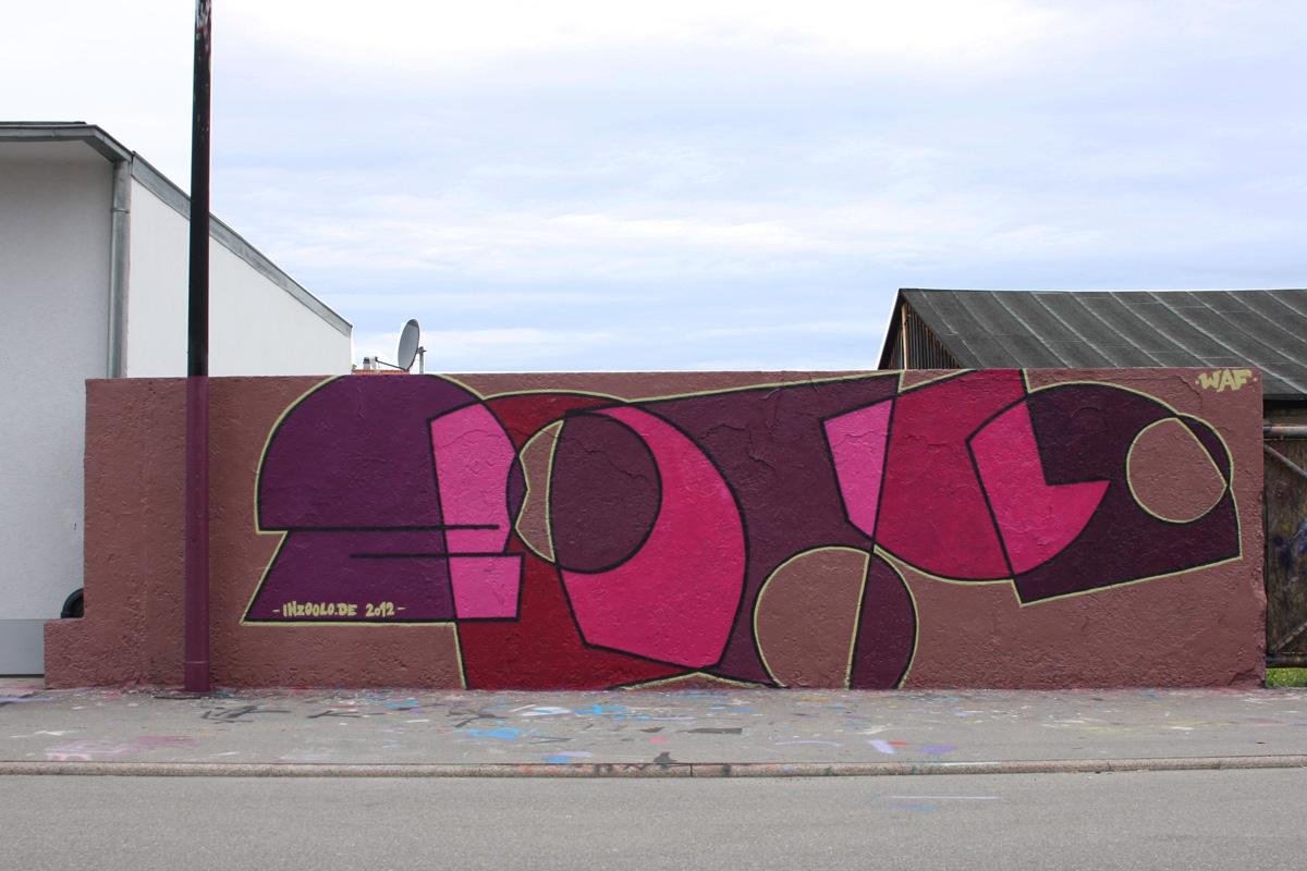 Graffiti zoolo Rottweil