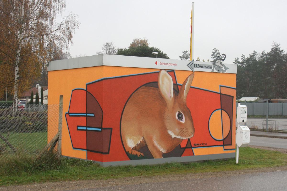 Graffititiere, Graffitiauftrag