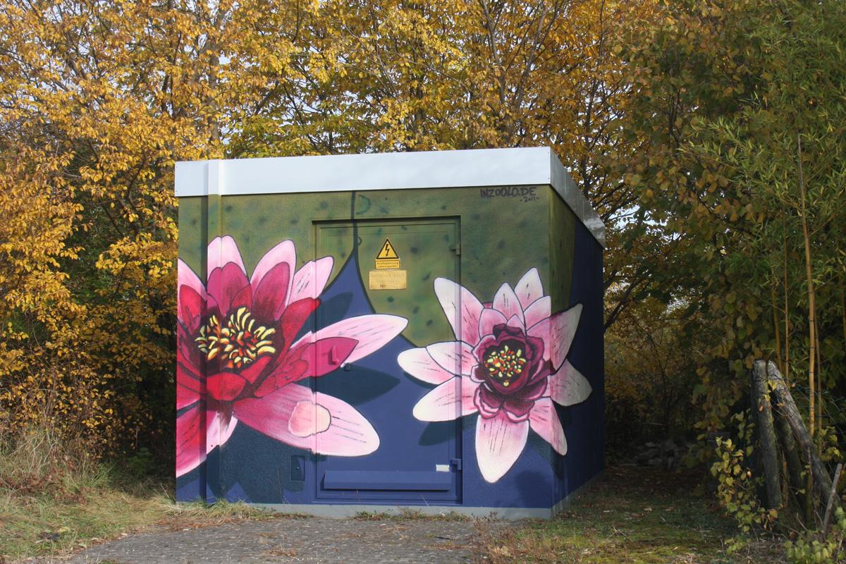 Graffitigestaltung aus Freiburg, Legales Graffiti, Graffiti Workshops