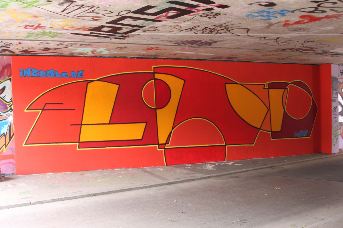 legale Graffiti in Freiburg