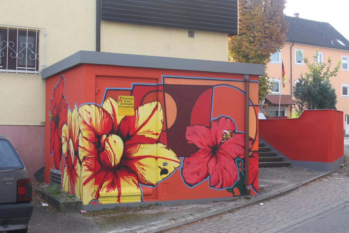 Graffitiauftrag, Graffiti Aufträge, professionelle Graffitisprüher