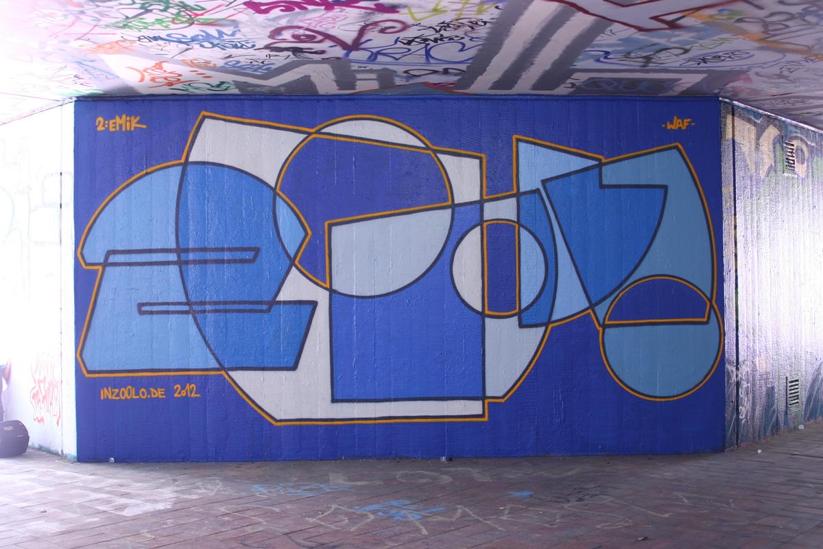 Graffiti legal von zoolo