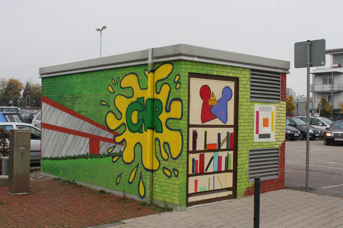 Graffitikurs, Graffitiworkshop, inzoolo, Graffitiauftrag, Graffitigestaltung