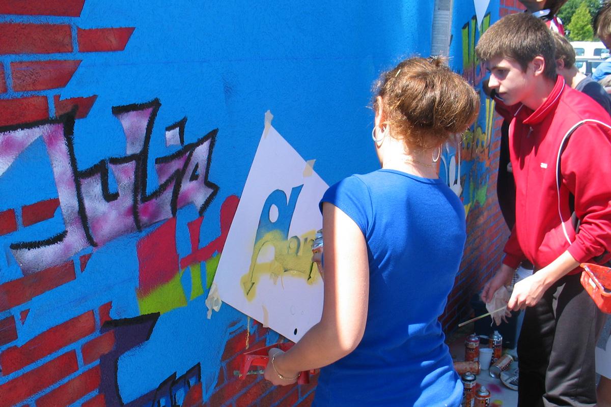 Graffitikurs Freiburg, Graffitikurs Bühl, inzoolo, zoolo