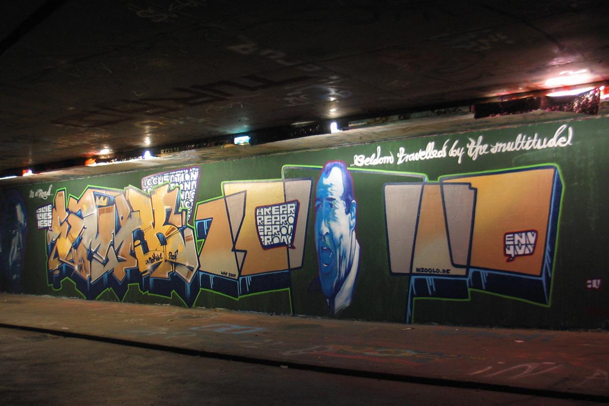 Graffiti Freiburg, Graffitigestaltung Freiburg, Graffitiauftrag, Graffiti professionell