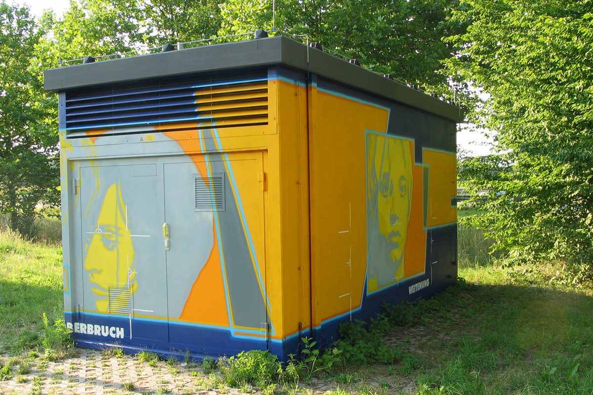 legales Graffiti, Graffitiauftrag,