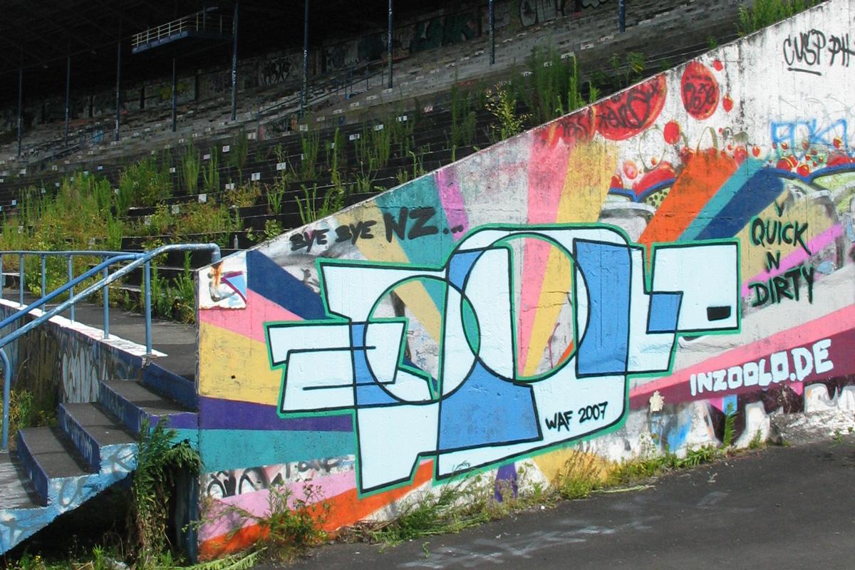 Neiseeland Graffiti, Auftragsgaraffiti Freiburg, zoolo, inzoolo