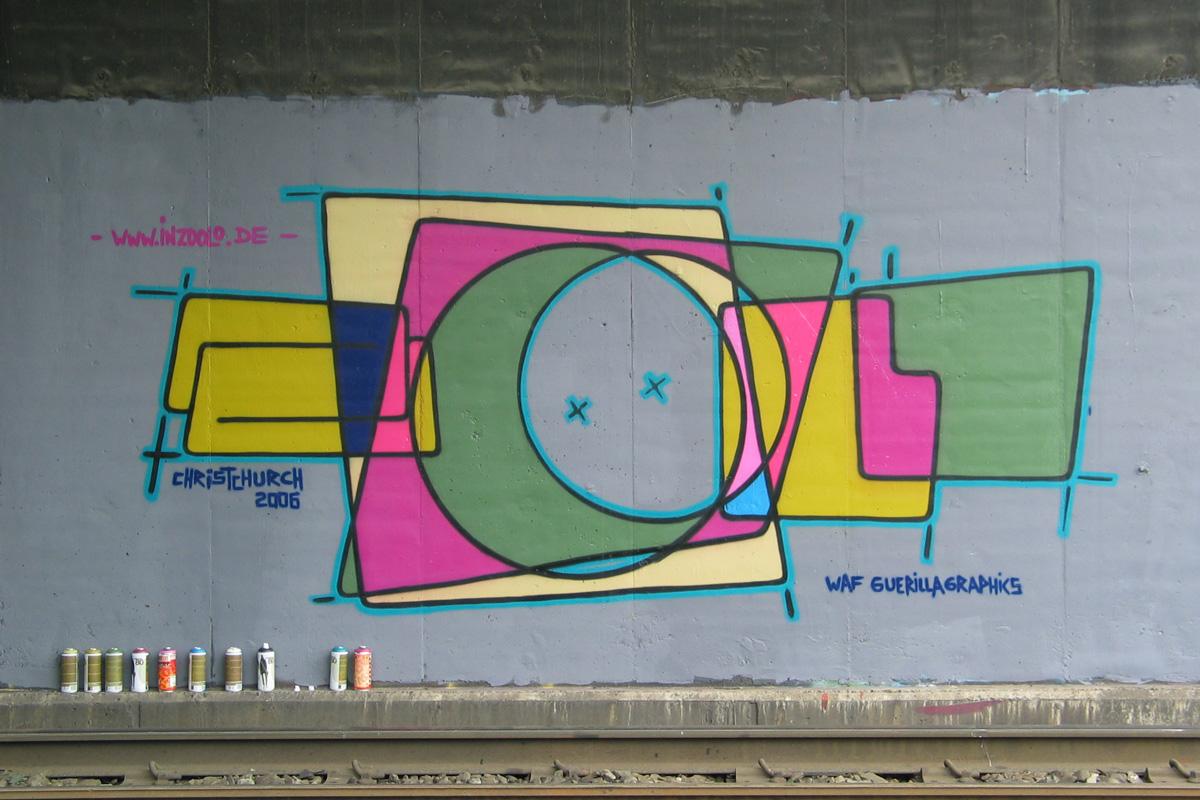 Graffti zoolo, Andreas Ernst