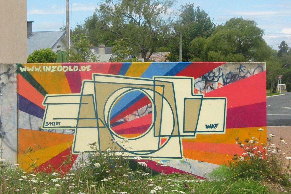 Graffiti zoolo, Graffiti Freiburg, inzoolo, Graffitiauftrag