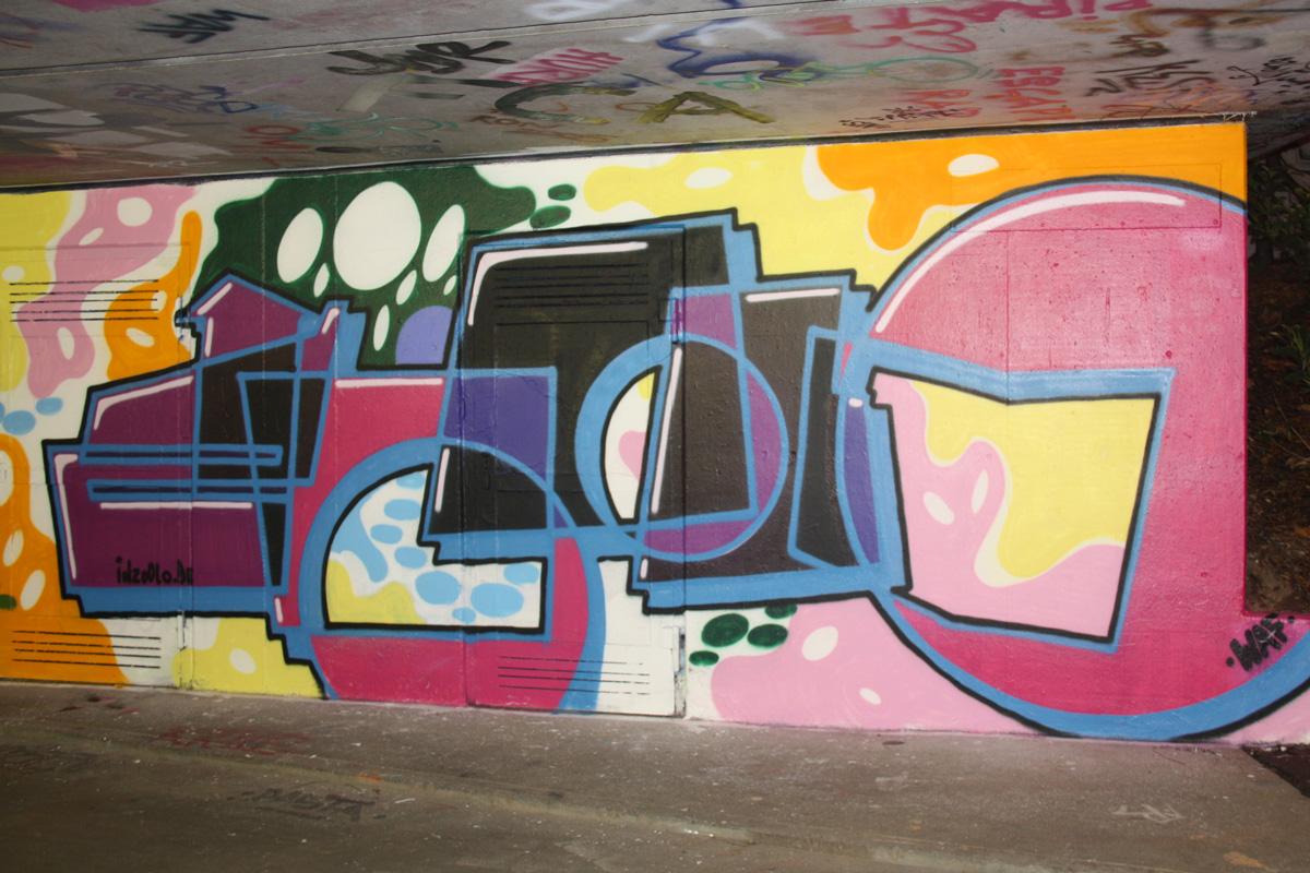 Graffiti von zoolo in Freiburg